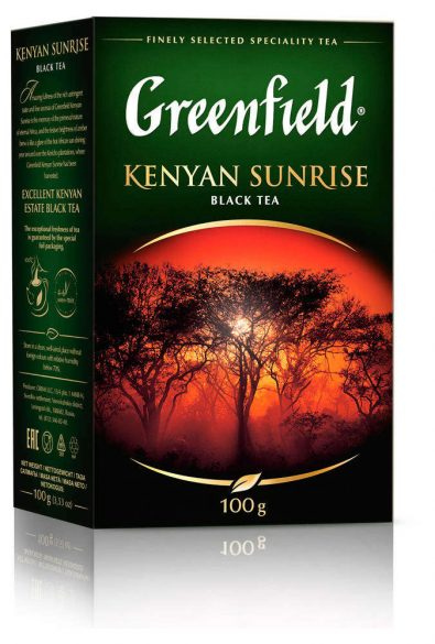 Чай Greenfield Kenyan Sunrise 100г 487