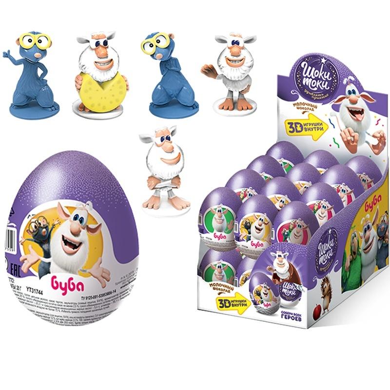 Яйцо шоколадное Шоки-Токи Буба 20г