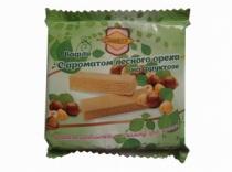 Вафли С ароматом Лесного Ореха на фруктозе 60г ТМ СахарOFF